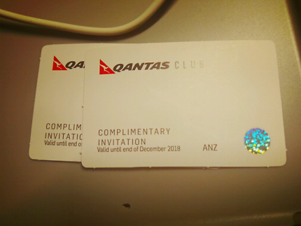 2 x Qantas lounge passes for $100