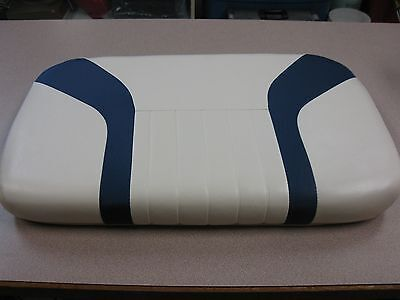 Used,  Boat Seat for Yamaha G3 Boats 23x14 Blue & White  FREE SHIPPING for sale  Lebanon