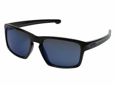 Oakley Silver OO9262-2857 Sunglasses Polished Black Ice Iridium Lens 9262 (Oakley Silver Sunglasses)