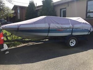 19 foot bayliner capris '92 with 115 HP