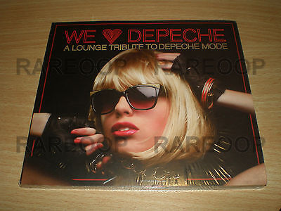 We Love Depeche Mode A Lounge Tribute  Cd  2009  Made In Argentina New   Sealed