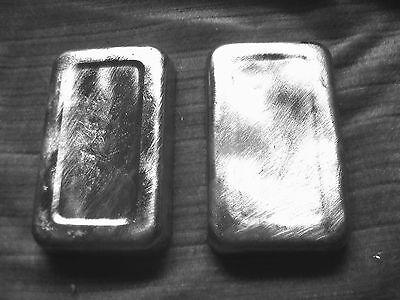 1 kg. Blei ,12x7,5cm,x10mm Bleibarren, Bleischrott,