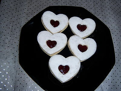** Homemade DELICIOUS Heart sugar COOKIES ** Heart Sugar Cookies