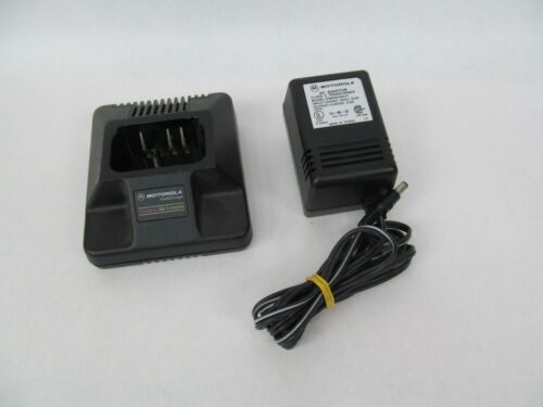 OEM Motorola HTN9042A Intellicharge Charging Station Cradle and Power Supply