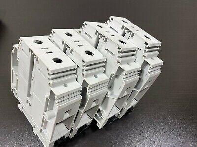 Lot Of 4 Entrelec D15031.d10 Screw Clamps Terminal Block