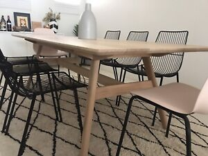 Solid Aussie Oak 8 Seater Dining Table