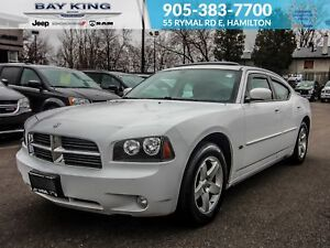 2010 Dodge Charger SXT, SUNROOF, V6, AUX, AC, ONE OWNER