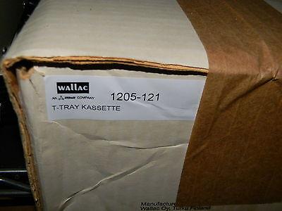 Wallac 1205-121 T-tray Cassette Quantity 10 New In Box