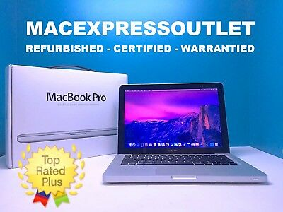 Apple MacBook Pro 13 PRE-RETINA / 2.9GHz i5 TURBO / OSX-2017 / 3 YEAR WARRANTY