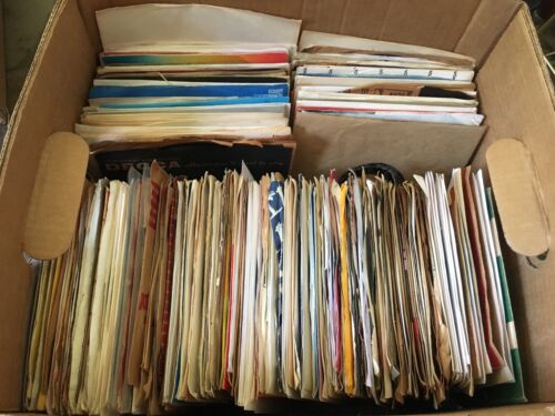 "FANCY Lot Of 50 ASSORTED 45's Records for your Jukebox or more 7"" 45 rpm"