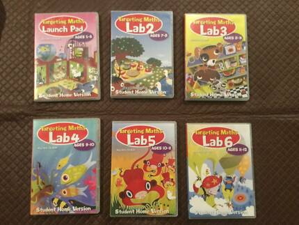 Targeting Maths CD-Roms - 6 Different Levels  - $5 each