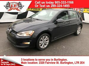 2015 Volkswagen Golf Highline, Auto, Leather, Back Up Camera,