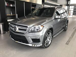 MERCEDES 2015 GL350 4matic diesel  PREMIUM ,AMG PACKAGE