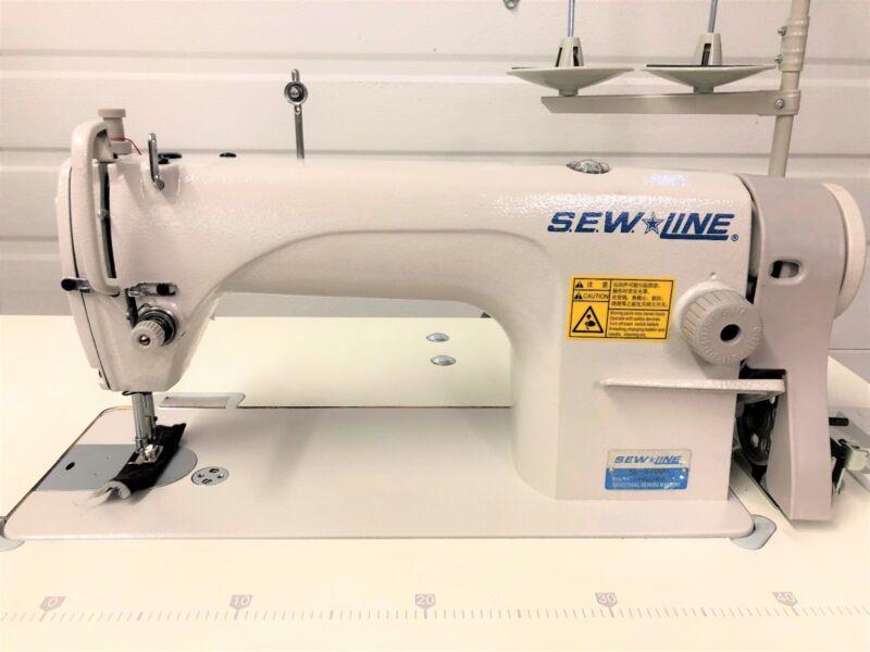 SEWLINE SL40H COMPLETE ALLNEWUNIT 40V SERVO INDUSTRIAL SEWING Stunning Sewline Walking Foot Sewing Machine
