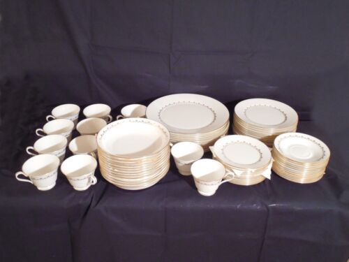 Oxford Bone China, Milburne Pattern – Service for 12, Mint Condition