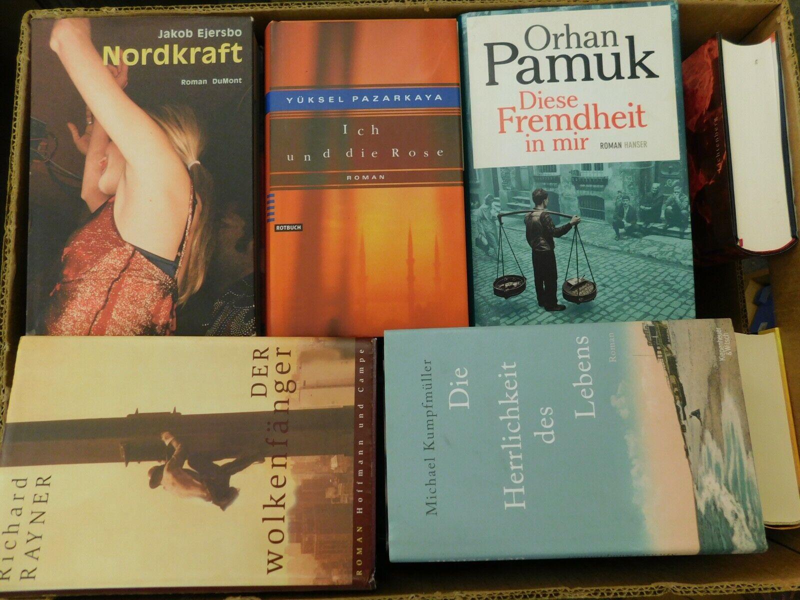 36 Bücher Romane Hardcover Top Titel Bestseller Paket 1