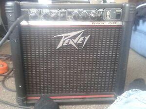 40 watt Peavy guitar amplifier.