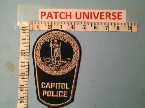 VIRGINIA CAPITAL POLICE  SHOULDER PATCH       L093