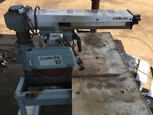 DELTA 50 - Radial Arm Saw