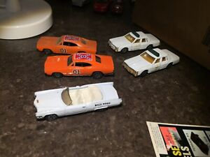 Dukes of Hazard 1:64 toy cars  original early 80's