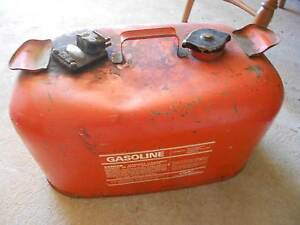 Vintage Large Outboard Motor Fuel Can Mitchell Park Marion Area Preview