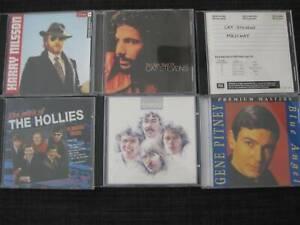 LOT OF 5 CDs PLUS DVD, CAT STEVENS, NILSSON, HOLLIES, BREAD, PITNEY