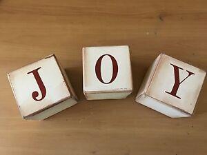 JOY Home Decor Letter Blocks Lilli Pilli Sutherland Area Preview