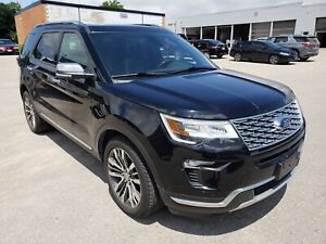 2018 Ford Explorer Platinum AWD | Collision Warning | Heated Sea