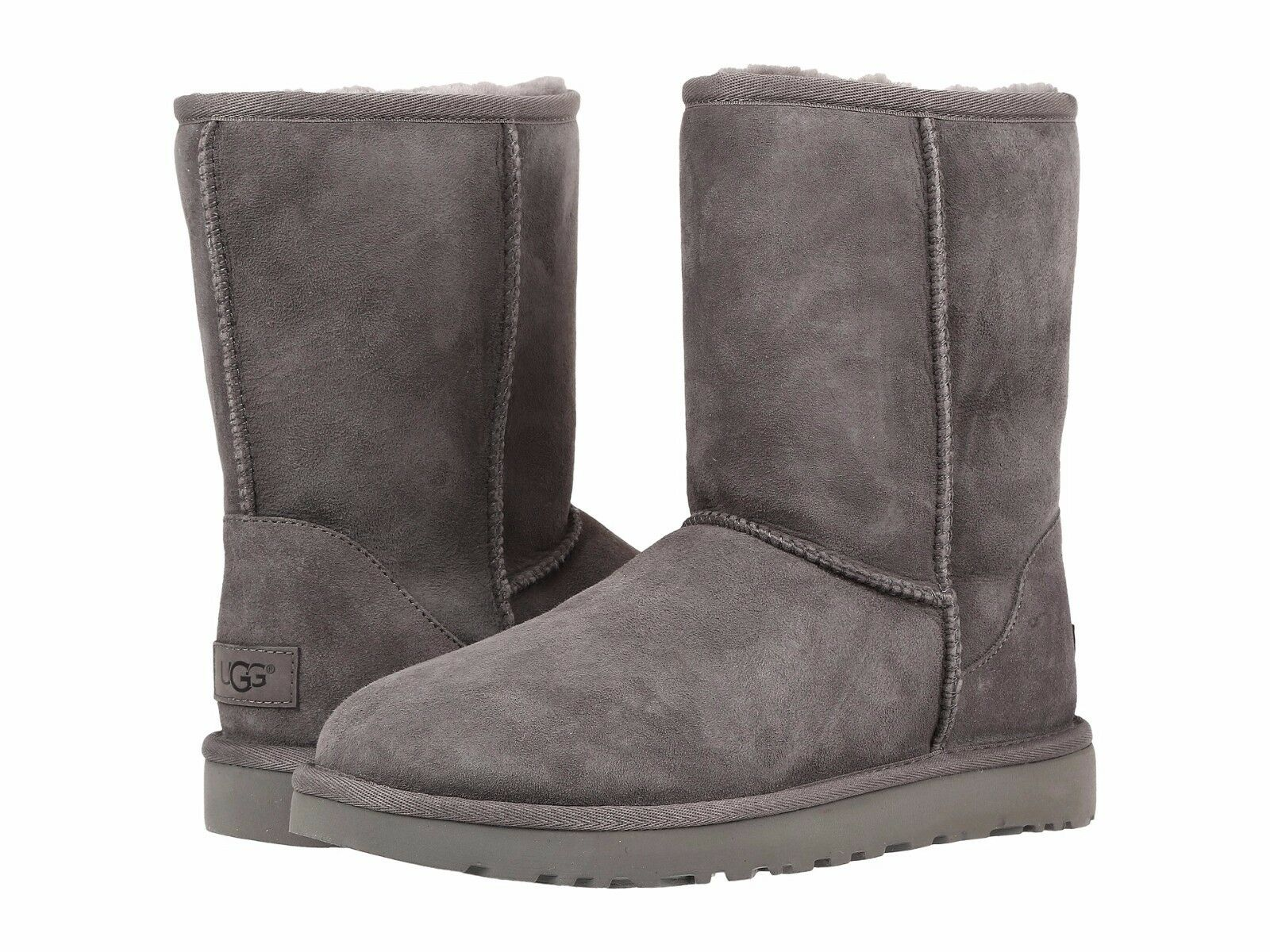 Women's Shoes UGG CLASSIC SHORT II Mid-Calf Boots 1016223 GR