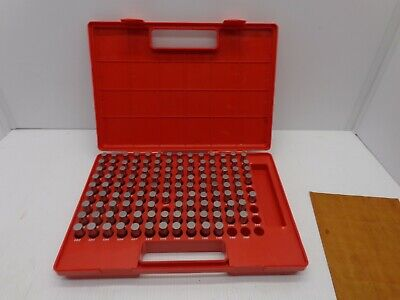 Mhc Supply M2 Minus Plug Pin Gage Set 118 Pieces 0.501 To 0.625 Missing 7