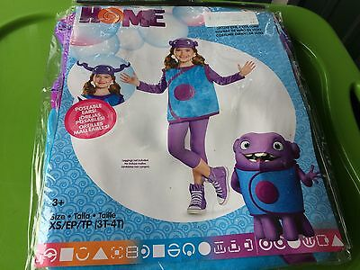 Child Oh Home Costume From Movie Home Dreamworks Kids Home Costume 3T-4T FREE SH - Costume From Movies