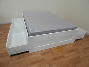 IKEA brimnes double bed + mattress SYDNEY DELIVERY & ASSEMBLY Windsor Hawkesbury Area Preview