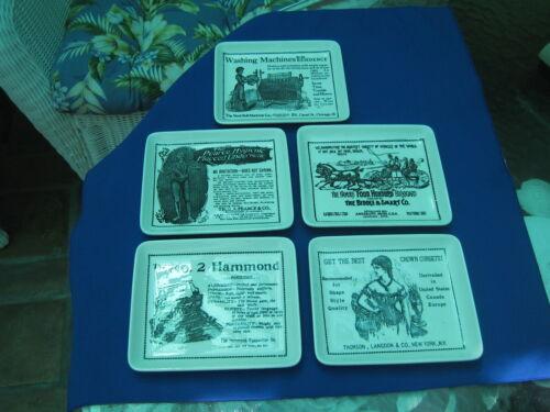 Vintage Advertising Plates