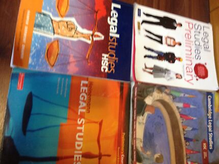 Legal Studies Text Books (4 books in total) Coogee Eastern Suburbs Preview