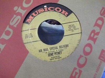 45  Gene Pitney Town Without Pity   Air Mail Special Delivery On Musicor Records