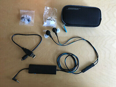 MINT! Bose QuietComfort 20i Acoustic Noise Cancelling Headphones QC20i for Apple