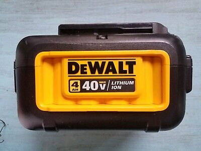 DEWALT 40V Li-Ion 4 Ah Battery Model: DCB404