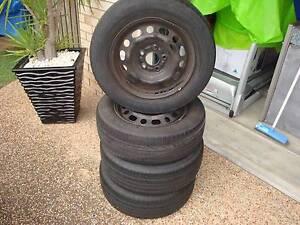 Mazda 3 Steel wheels Flinders View Ipswich City Preview