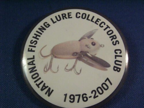 NFLCC - NATIONAL FISHING LURE COLLECTORS  BADGE  2007