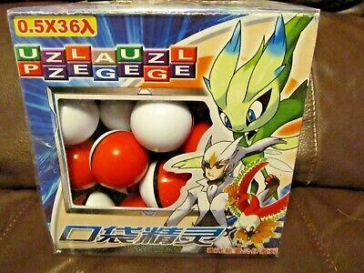 Pokemon Pokeball Lot of 36   (NEW)