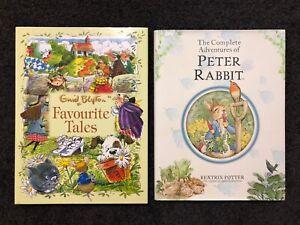 2 Classic Hardcover Childrens Books - Enid Blyton & Beatrix Potter