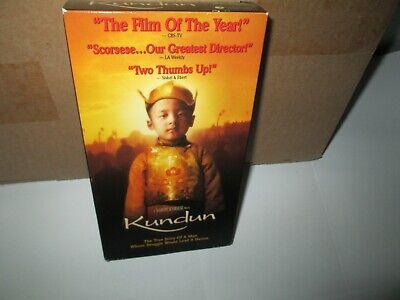 Martin Scorsese KUNDUN rare vhs Dalai Lama Tibet PHILLIP GLASS '90s True (Scorsese Glasses)