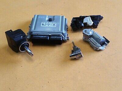 MERCEDES E 320 CDI W211 '04 V6 OM642 COMPLETE IGNITION ECU LOCK SET A6421501379
