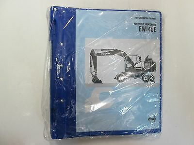 Volvo Construction Equipment Ew140e Preventative Maintenance Manual New Factory