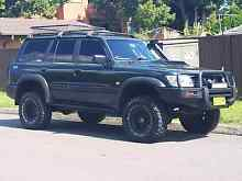 Nissan patrol 1999 4.2L factory turbo diesel 10months rego Sydney City Inner Sydney Preview