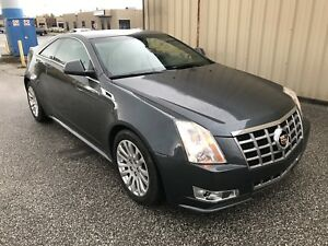 2012 Cadillac CTS 4 Coupe Performance SAFETIED !
