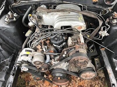 302 Mustang Engine - 87-93 Ford Mustang Complete 302 HO High Output Engine Factory Motor OEM 5.0L