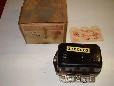 Vintage NORS Champion Voltage Regulator VR-71 1956 - 1958 Imperial Desoto Chrysl