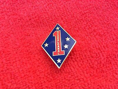 USMC 1ST MARINE DIVISION HAP/LAPEL PIN
