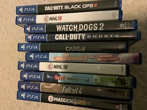 PS4 games for sale !!